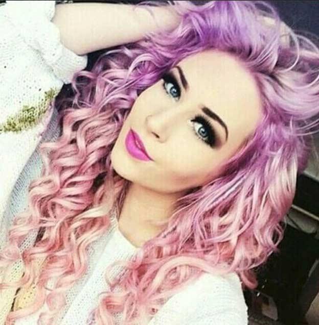 light purple hair color hair colar and cut style
