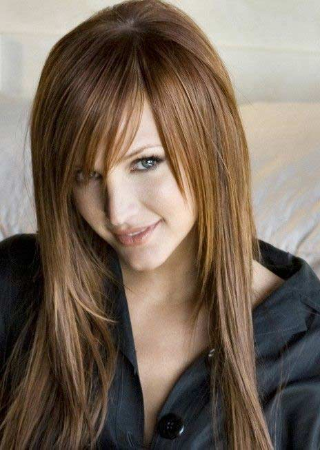 Ashlee Simpson Hair Color Hair Colar And Cut Style