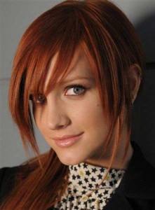 Ashlee Simpson Hair Color
