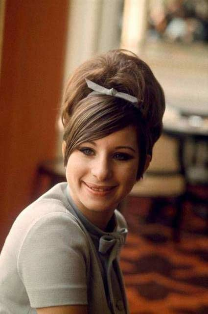Barbra Streisand Natural Hair Color