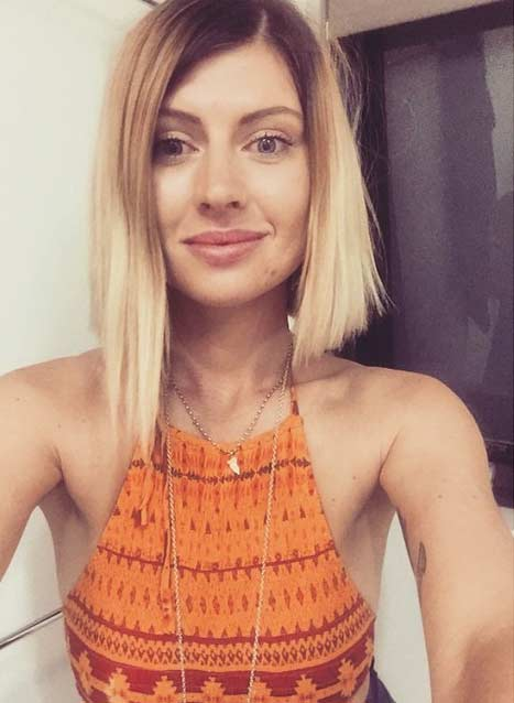 Blonde Bob Ombre Hair Colar And Cut Style