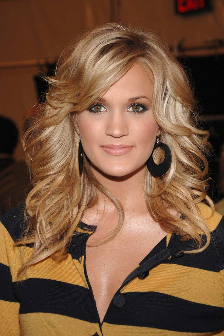 Carrie Underwood Hair Color Hair Colar And Cut Style