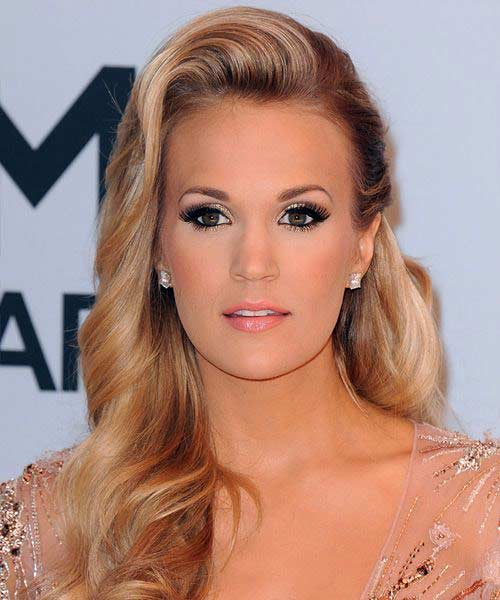 Carrie Underwood Brown Hair Brown Hairs