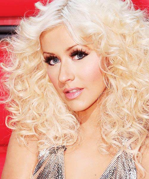 Christina Aguilera Hair Clor Hair Colar And Cut Style
