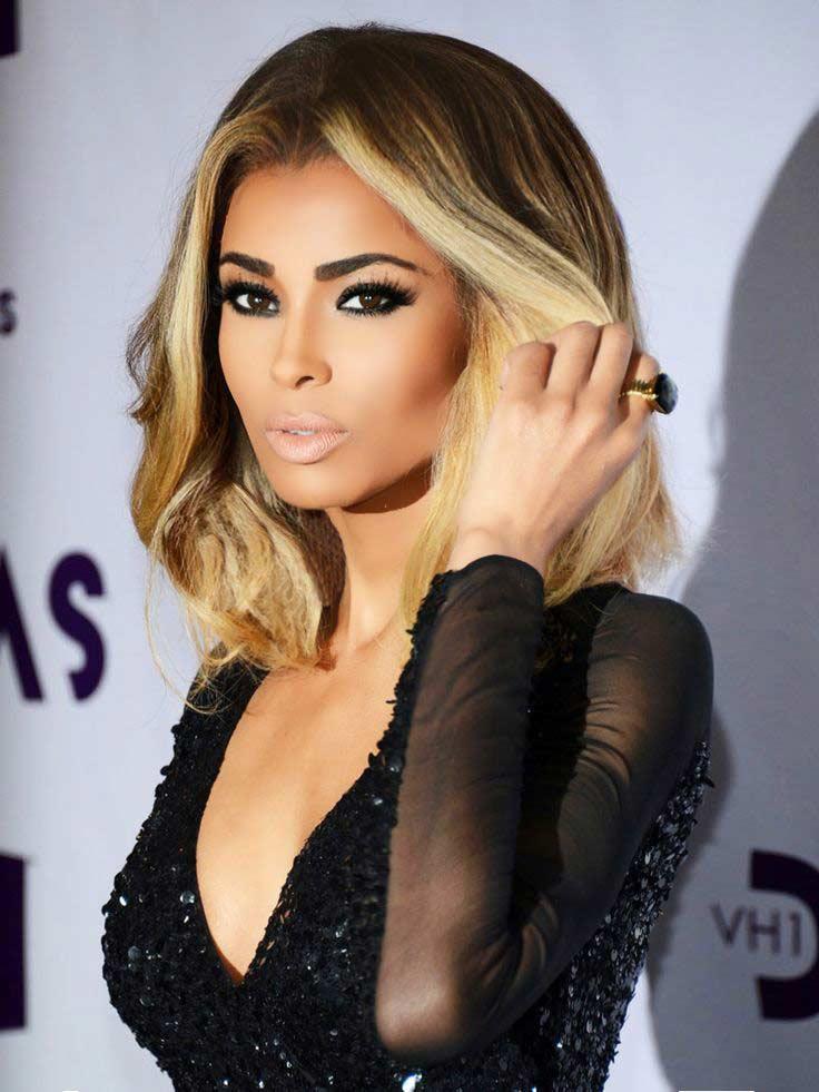 Ciara Hair Color Hair Colar And Cut Style