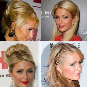 Paris Hilton hair color