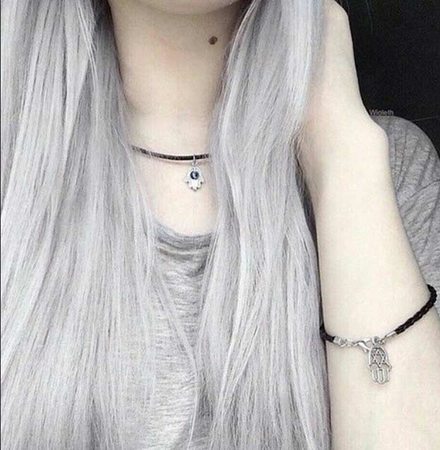 gray hair colors hair colar and cut style