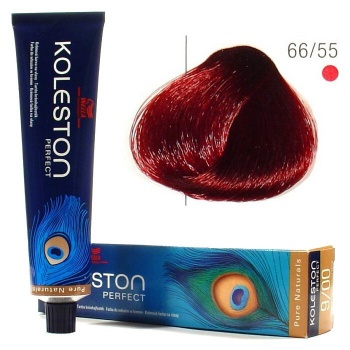 Wella Koleston Perfect 66 55 Hair Colar And Cut Style