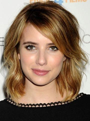 Emma roberts dark hair