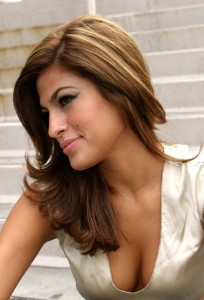 Eva Mendes Hair Color