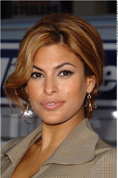 Eva Mendes Hair | Eva mendes hair, Eva mendes, Hair styles |Eva Mendes Hair Color
