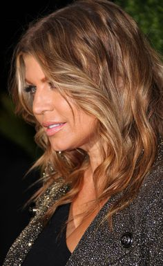 Fergie Hair Color Hair Colar And Cut Style