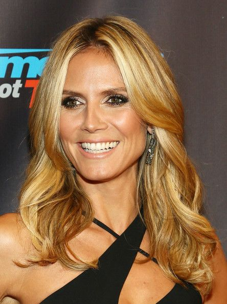 Heidi Klum Hair Color ...