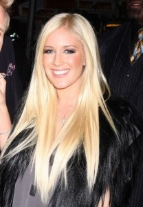 Heidi Montag Hair Color
