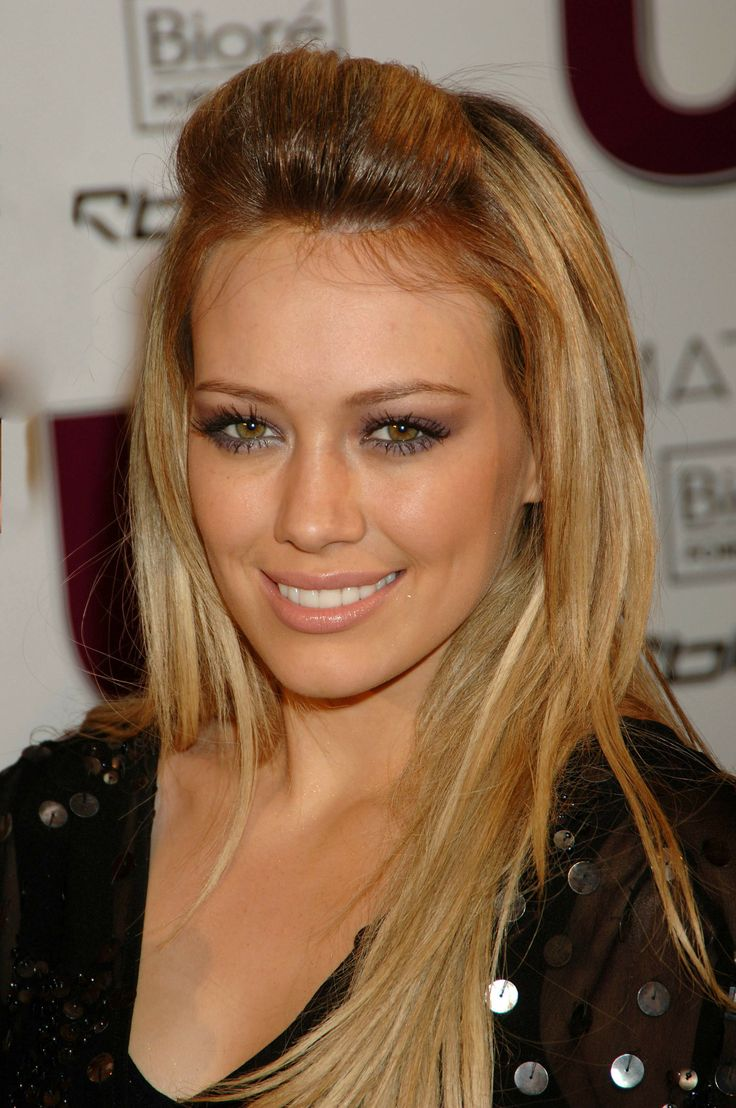 Hilary Duff Hair Color...