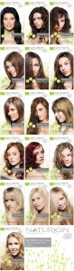 Naturigin hair dye colors