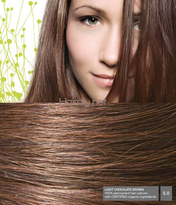 Naturigin Light Chocolate Brown 5 0 Hair Colar And Cut Style
