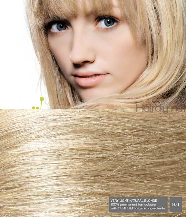 Naturigin Very Light Natural Blonde 9 0 Hair Colar And