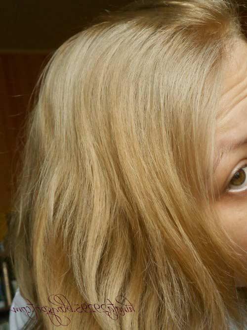 Garnier Olia 8 0 Medium Blonde Hair Colar And Cut Style