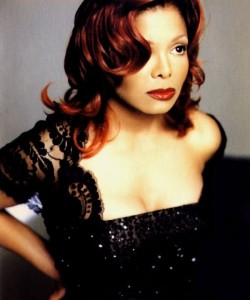 Janet Jackson Hair Color