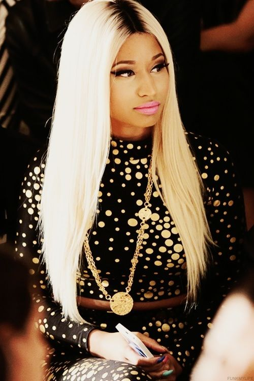 Nicki Minaj Hair Color Hair Colar And Cut Style