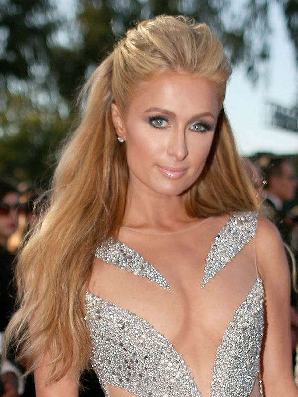 Paris Hilton Color Hair Colar And Cut Style