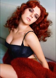 Scarlett Johansson Hair Color