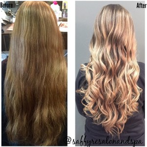 Ash Blonde Golden  Highlights