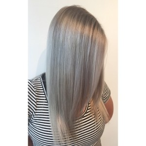 Intense Ash Blonde Hair Color