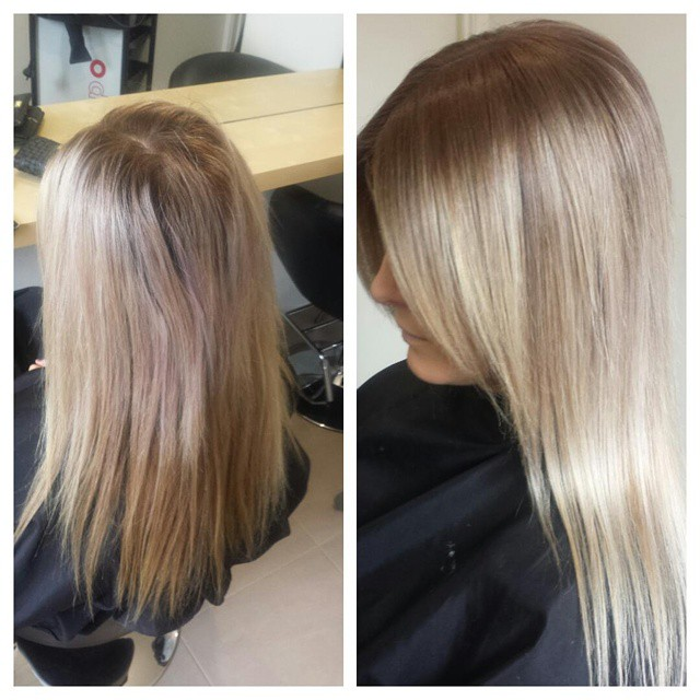 Light Ash Blonde - Hair Colar And Cut Style