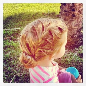 Blonde Kid Girl Hairstyles