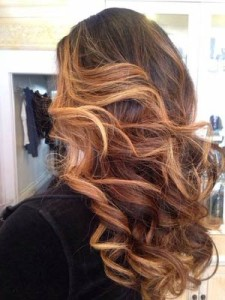 2015 Brown Blonde Ombre