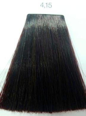 L Oreal İnoa 4 15 Mahogany Brown Hair Colar And Cut Style