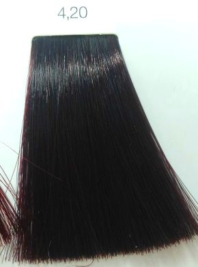 l�oreal İnoa 420 burgundy brown hair colar and cut style