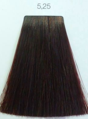 L Oreal İnoa 5 25 Light Iridescent Mahogany Brown Hair Colar And Cut Style