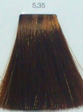 L Oreal İnoa 5 35 Light Golden Mahogany Brown Hair Colar And Cut Style