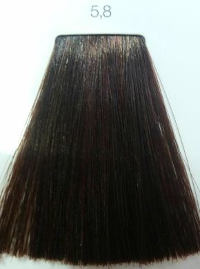 l�oreal İnoa 58 light mocha brown hair colar and cut style