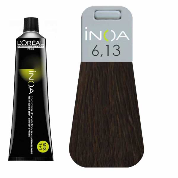 L Oreal İnoa 6 13 Dark Ash Golden Blonde Hair Colar And