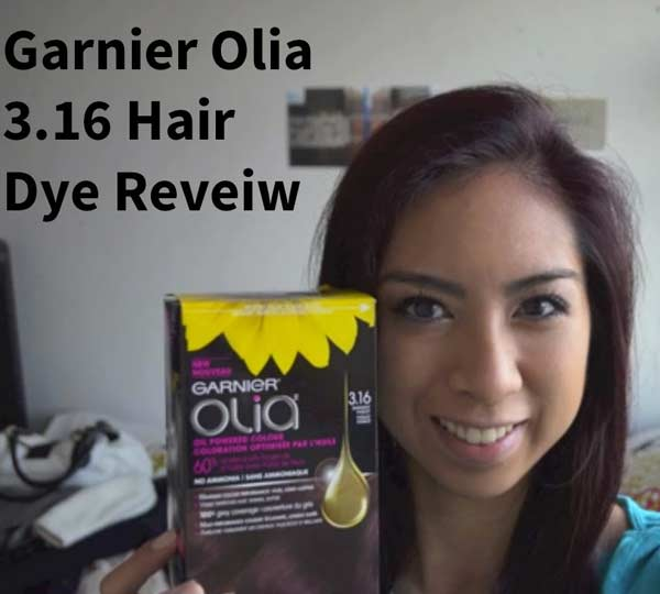 Garnier Olia 3 16 Darkest Violet Hair Colar And Cut Style