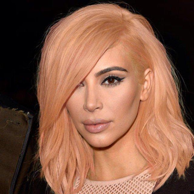 Kim Kardashian Hair Color Hair Colar And Cut Style