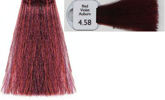 4 58 Natulique Red Violet Auburn Hair Colar And Cut Style