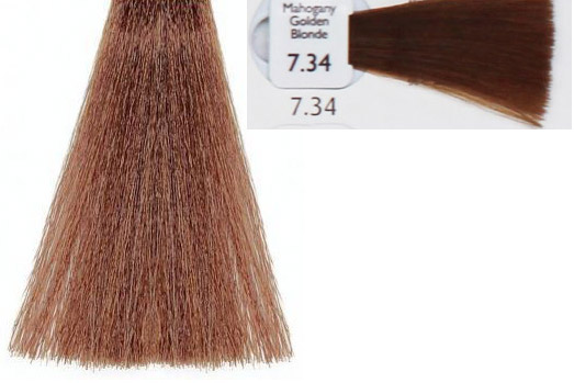 7 34 Natulique Mahogany Golden Blonde Hair Colar And Cut