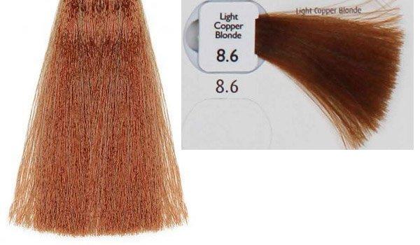 Natulique Hair Dye Contents · 8.6_light_copper_blonde