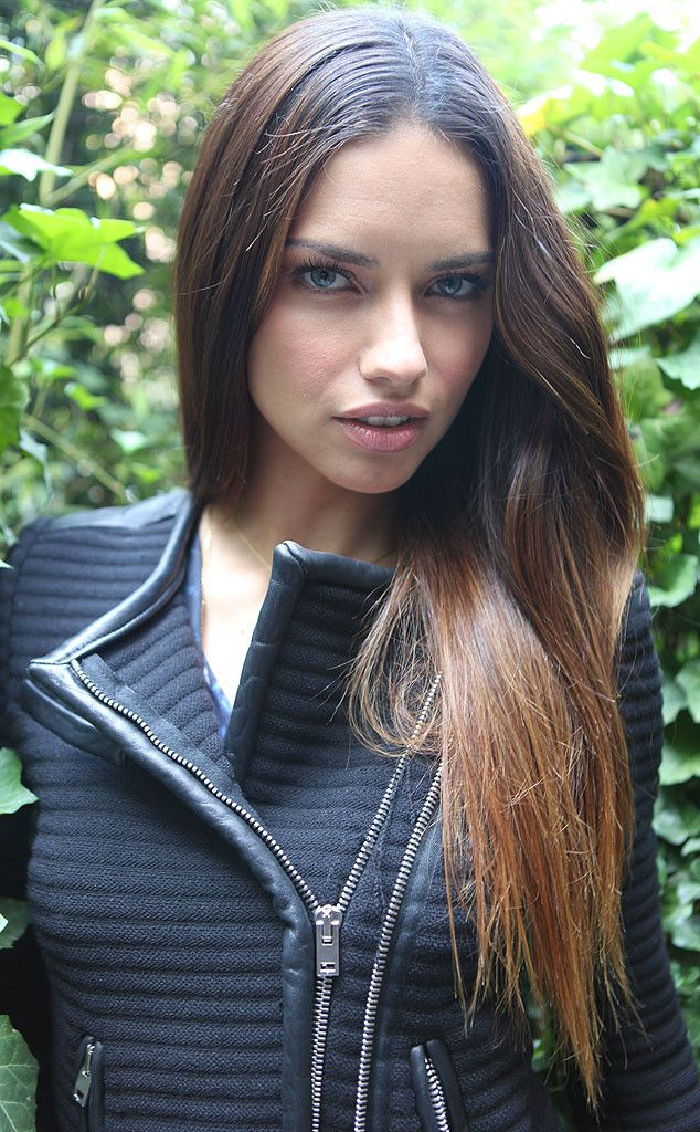 Adriana Lima Hair Color Hair Colar And Cut Style
