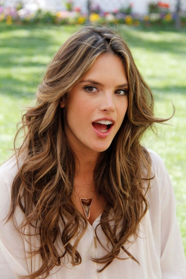 Alessandra Ambrosio Hair Color Hair Colar And Cut Style
