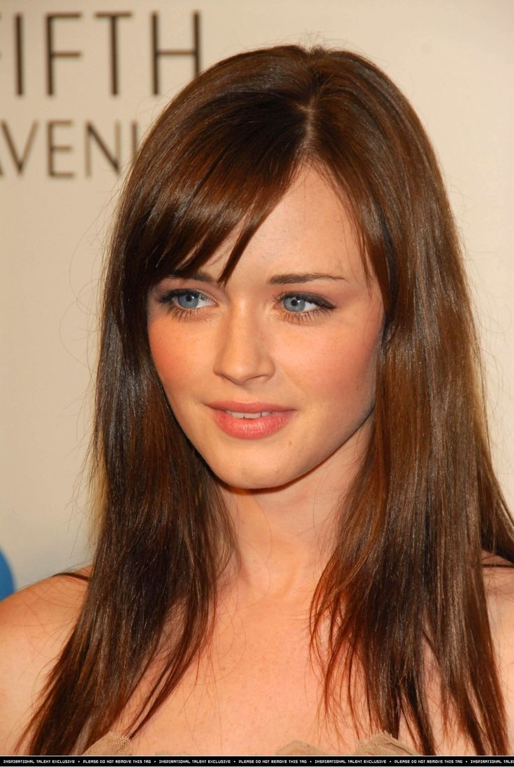 Alexis Bledel Hair Color Hair Colar And Cut Style