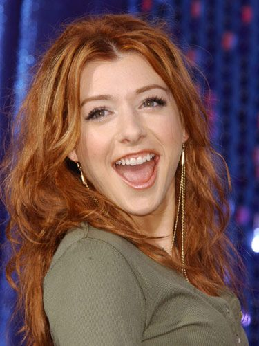 Alyson Hannigan Hair Color Hair Colar And Cut Style