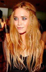 Ashley Olsen Hair Color