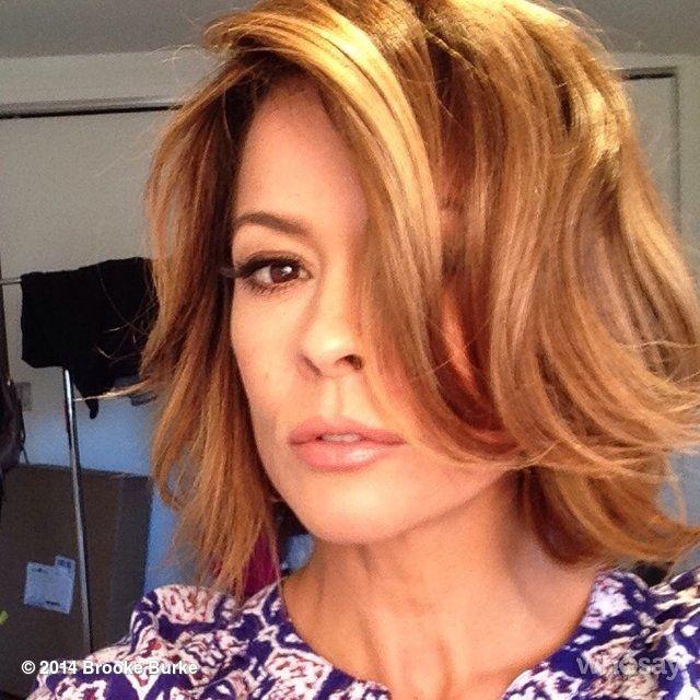 Brooke Burke Hair Color Hair Colar And Cut Style