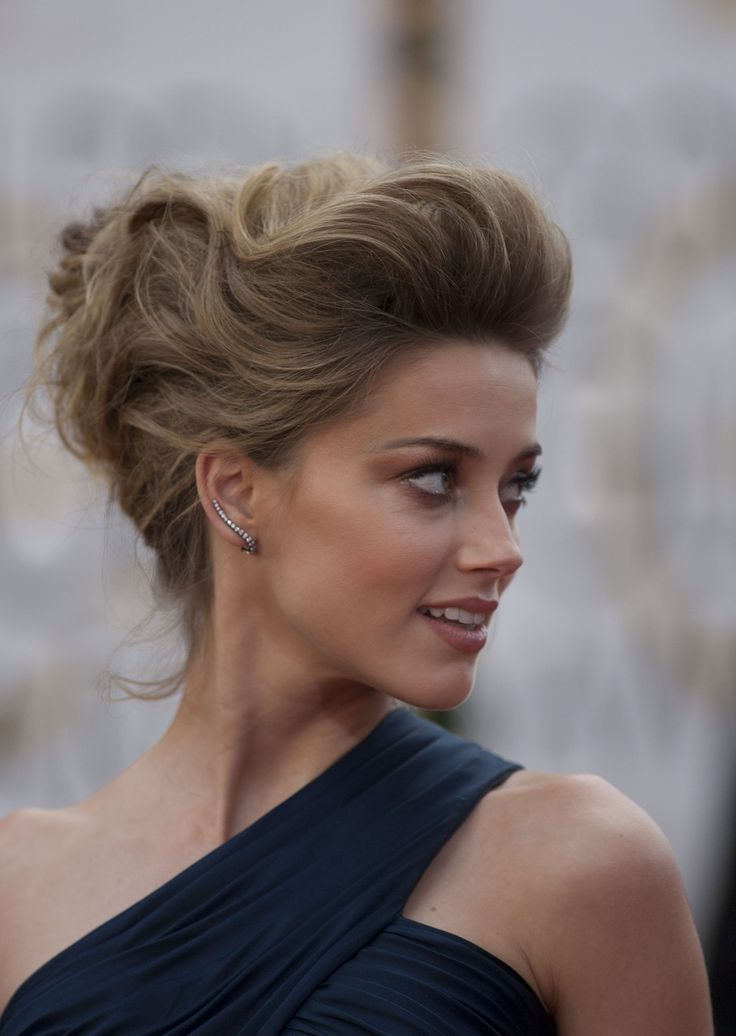 Amber Heard Hair Color Hair Colar And Cut Style